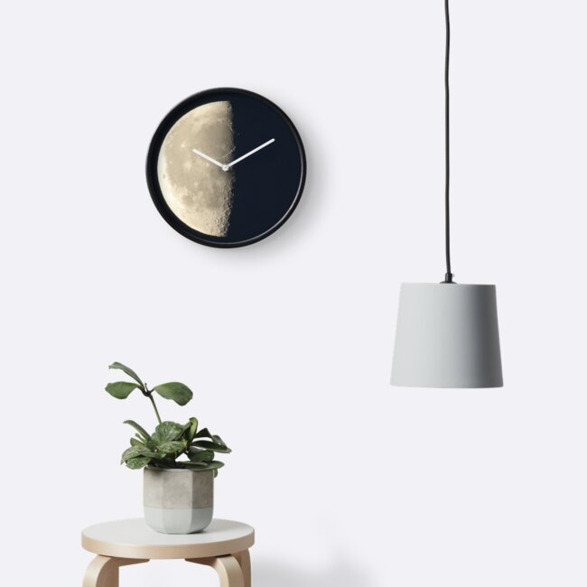 Half Moon Clock by SmirkDog-Photo