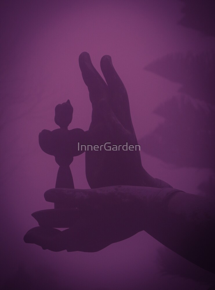Offering to Buddha by InnerGarden