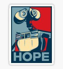 Trust in Wall-e  Sticker