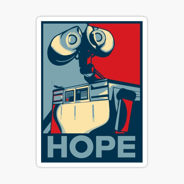 Faites confiance à Wall-e Sticker