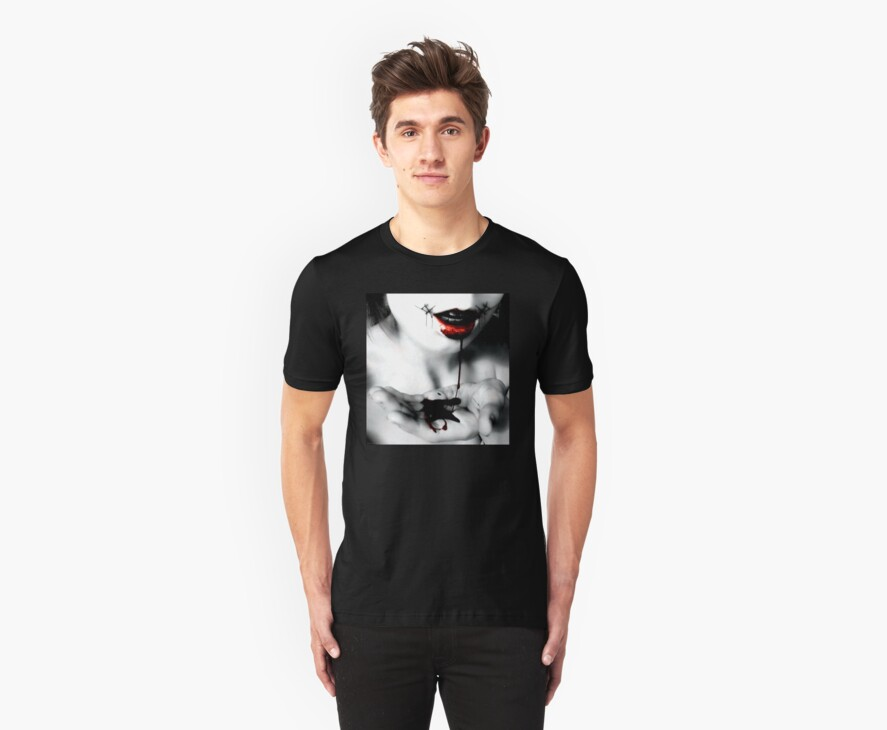 Stitched Smile Tee by Ash Sivils