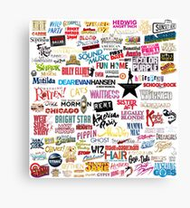 Musicals Canvas Print