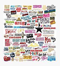 Musicals Photographic Print