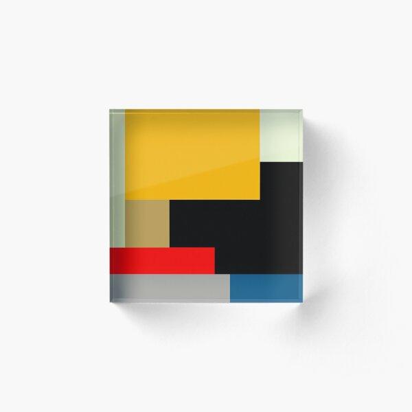 MODERNISM ONE Acrylic Block