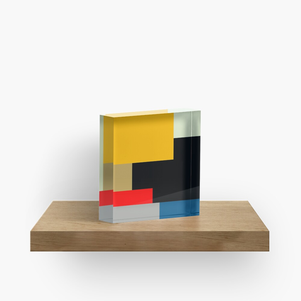 MODERNISM ONE Acrylic Block