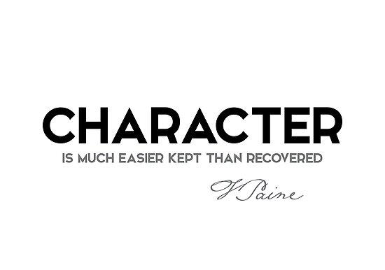 character - thomas paine by razvandrc
