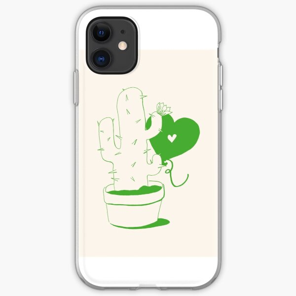 Cactus and Balloon iPhone Soft Case