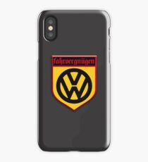 Fahrvergnugen (blk) iPhone Case/Skin