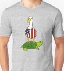 Turtle and Duck Unisex T-Shirt