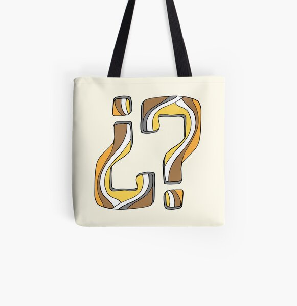 Was it me... again? All Over Print Tote Bag