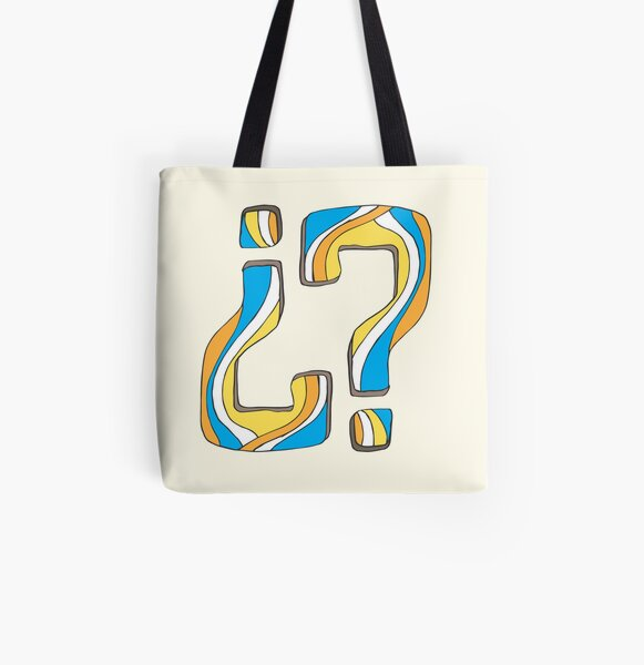 Did I say something funny? All Over Print Tote Bag