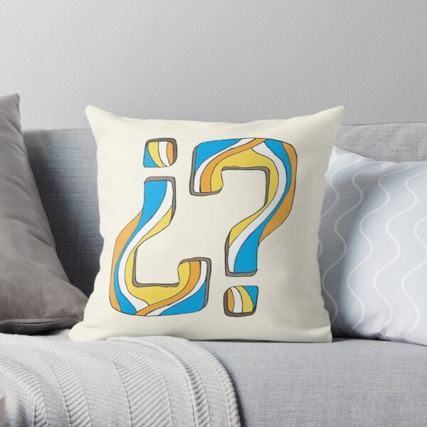 Did I say something funny? Throw Pillow
