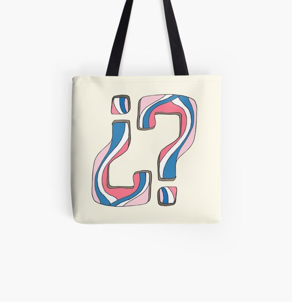 Did I miss something... again? All Over Print Tote Bag