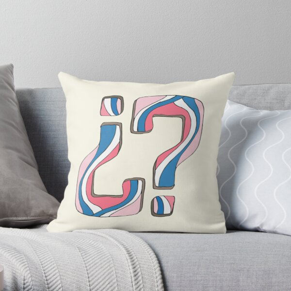Did I miss something... again? Throw Pillow