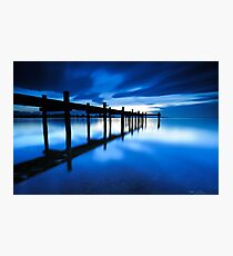 Chiemsee Blues Photographic Print