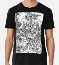APOCALYPSE, Durer, Revelation, 4 Horsemen, Four Riders,  Premium T-Shirt