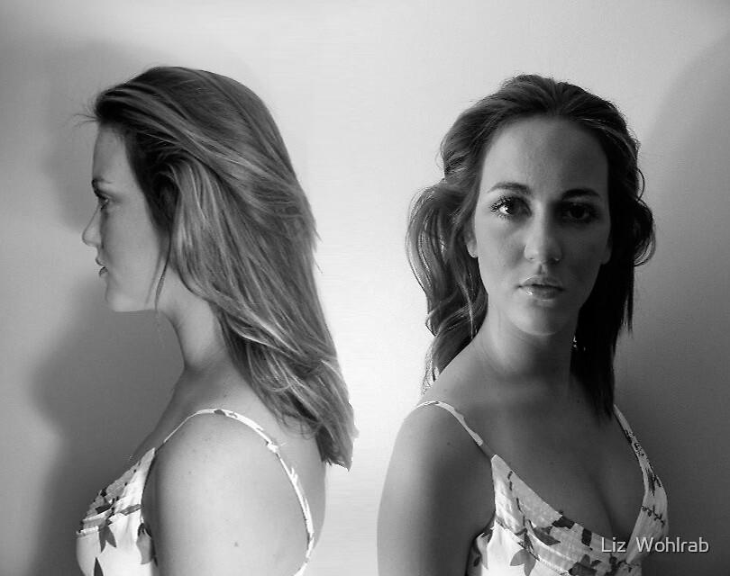 Fading self  by Liz  Wohlrab