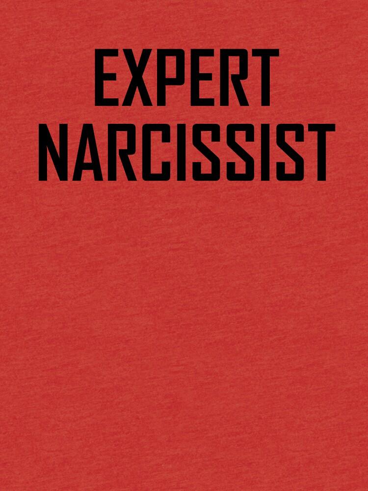 Expert Narcissist Text Design by 4Craig