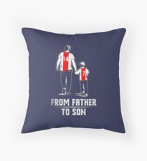 From father to son! Throw Pillow