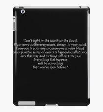 Fight Every Battle - white iPad Case/Skin