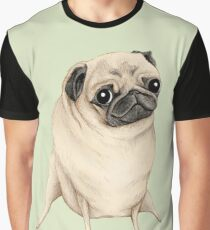 Sweet Fawn Pug Graphic T-Shirt