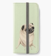 Sweet Fawn Pug iPhone Wallet/Case/Skin