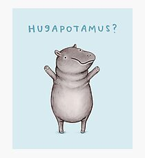 Hugapotamus? Photographic Print