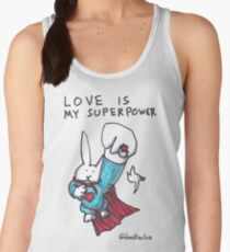 Love Is My Superpower Returns Women's Tank Top