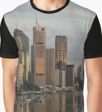 River city sunrise - Brisbane Graphic T-Shirt