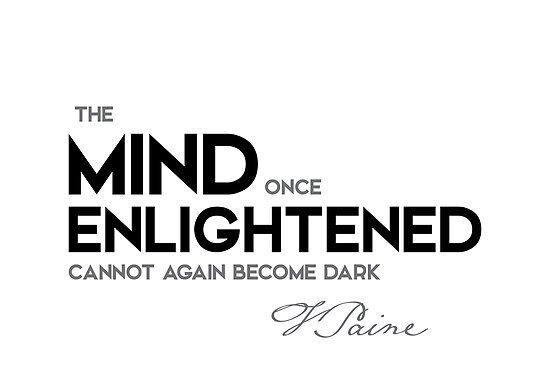 mind enlightened - thomas paine by razvandrc