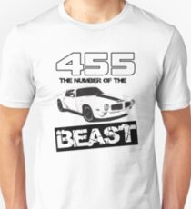455 - The Number of the Beast Unisex T-Shirt