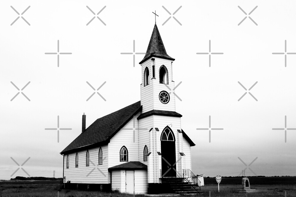 Country Church by Angela E.L. Clements