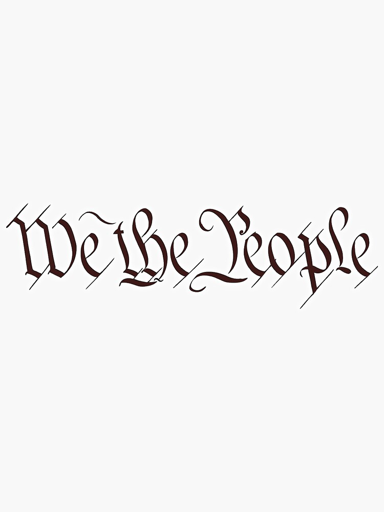 America, American, We the People, United States Constitution, Congress, Pure & Simple. by TOMSREDBUBBLE