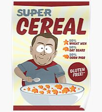 Super Cereal | South Park Poster