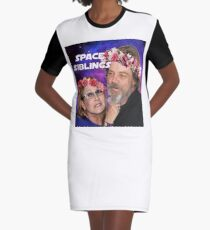 Space Siblings Graphic T-Shirt Dress