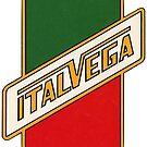 Italvega Bicycles Vintage Logo, 1970 by Traut