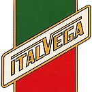 Italvega Bicycles Vintage Logo, 1970 by Traut
