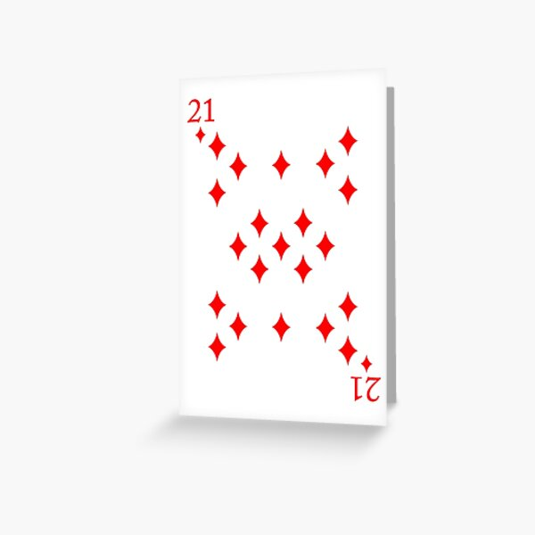 Magic 21st Birthday  Greeting Card