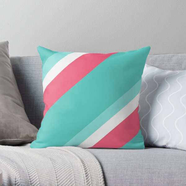 My favourite beach colors Throw Pillow