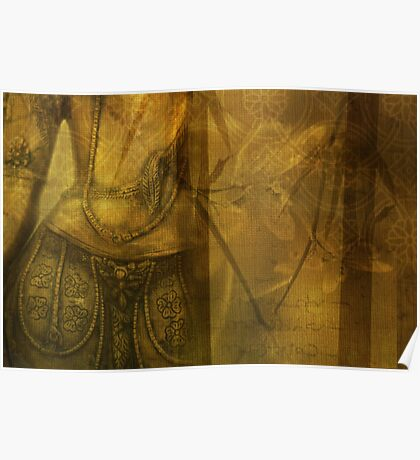 Golden Antiquity Poster