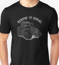 Keepin' It Rural - tractor  T-Shirt