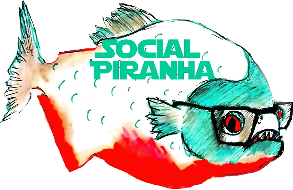 Social Piranha the IT Crowd by Jingim24