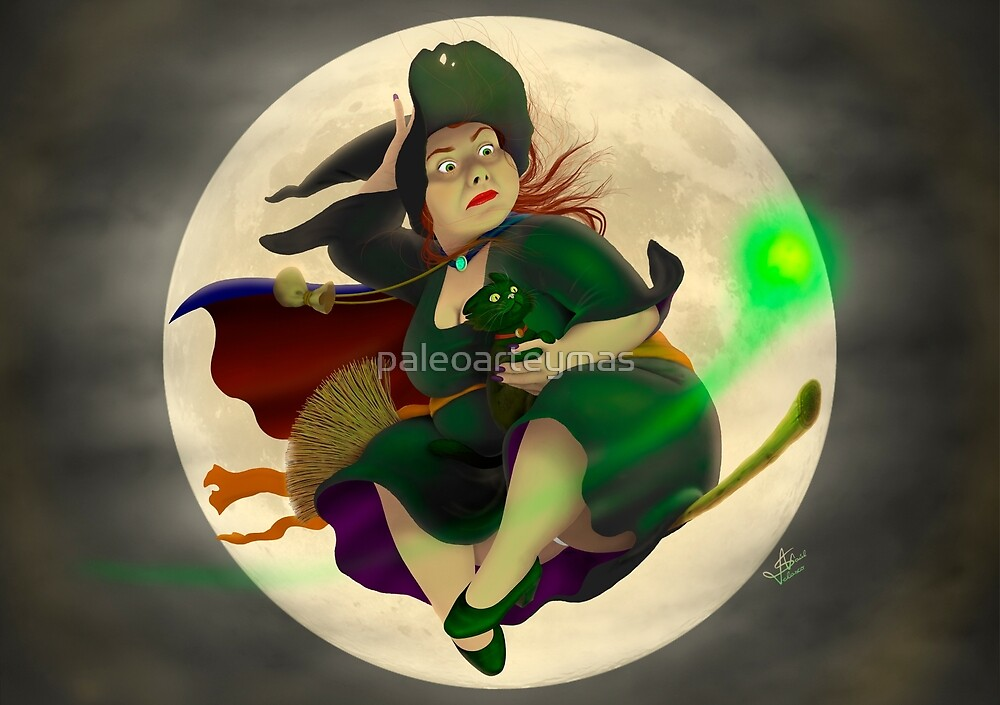 Witch  by paleoarteymas