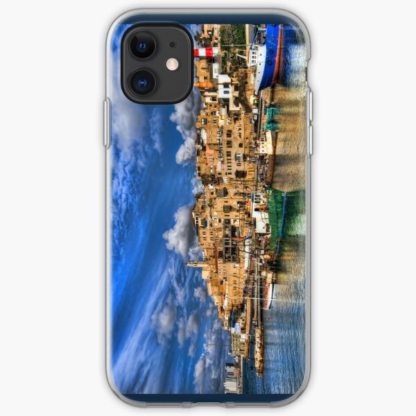 The old port, Jaffa iPhone Soft Case
