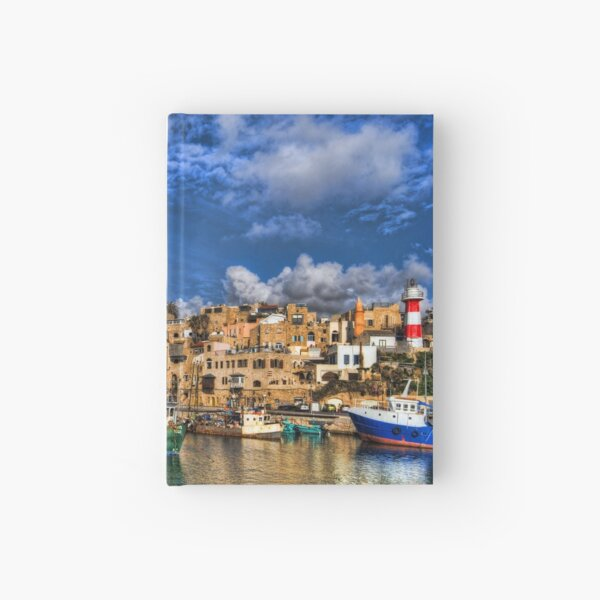 The old port, Jaffa Hardcover Journal