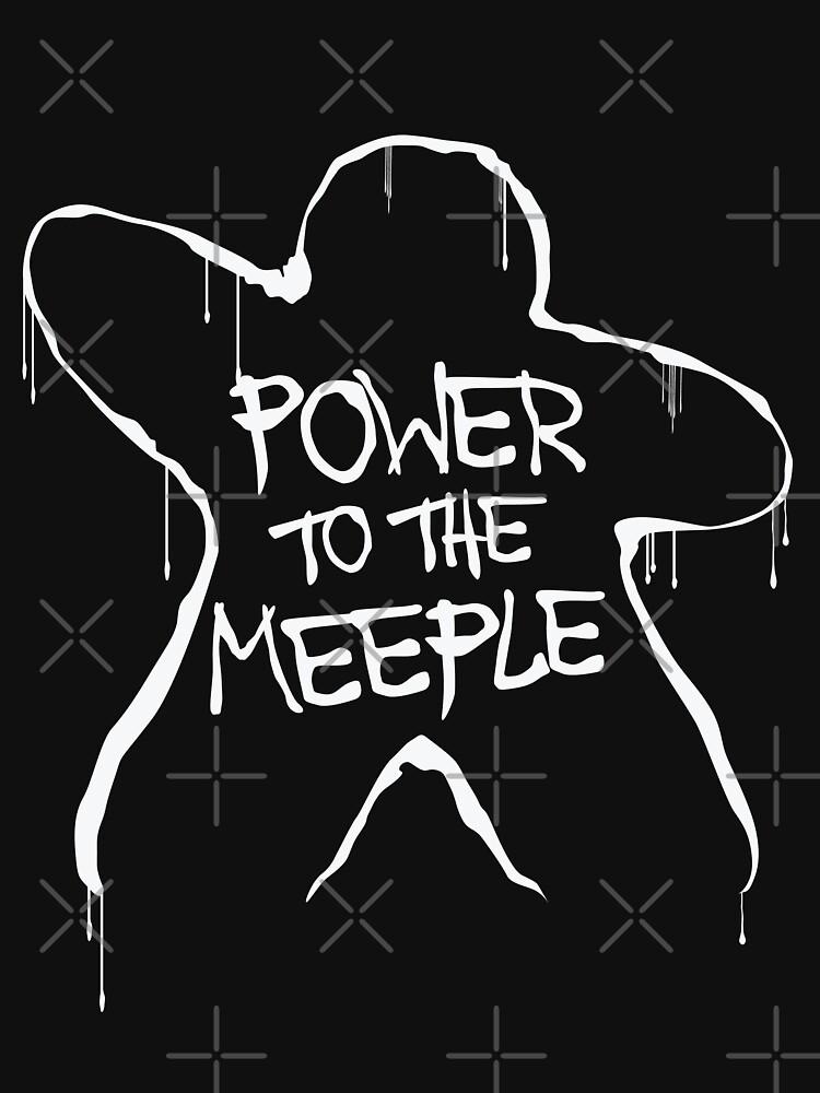 Poder para el meeple   Juegos de mesa de JustSandN