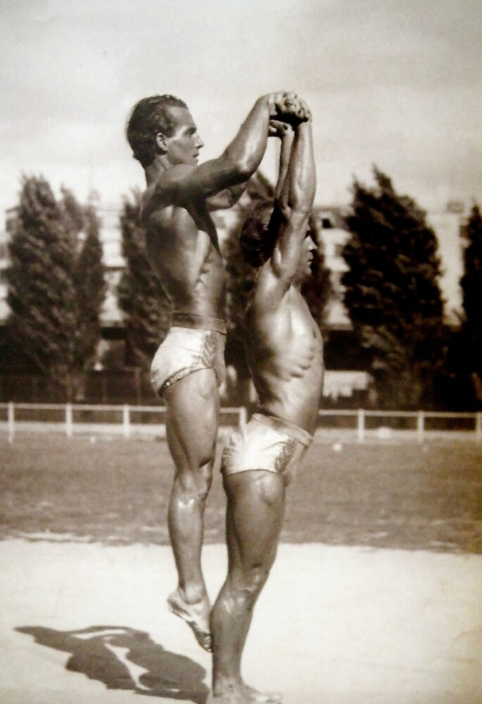 Two Acrobats  by planete-livres