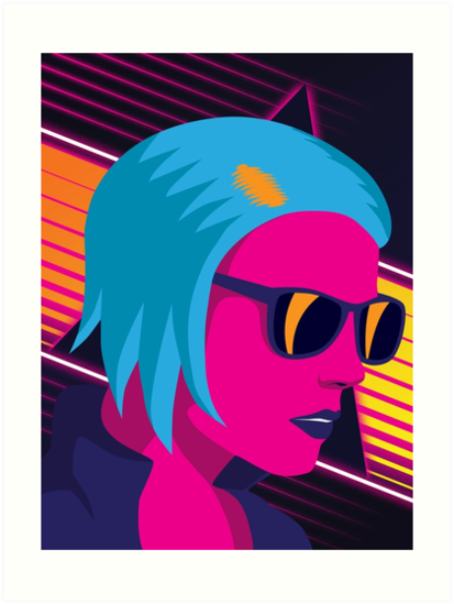 Outrun Girl by Patrick King