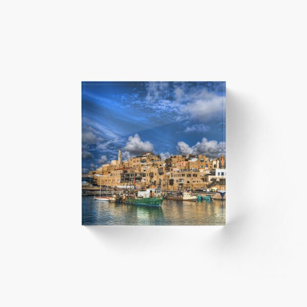 The old port, Jaffa Acrylic Block