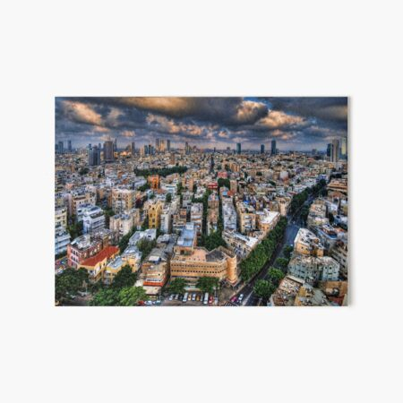 Tel Aviv lookout Art Board Print